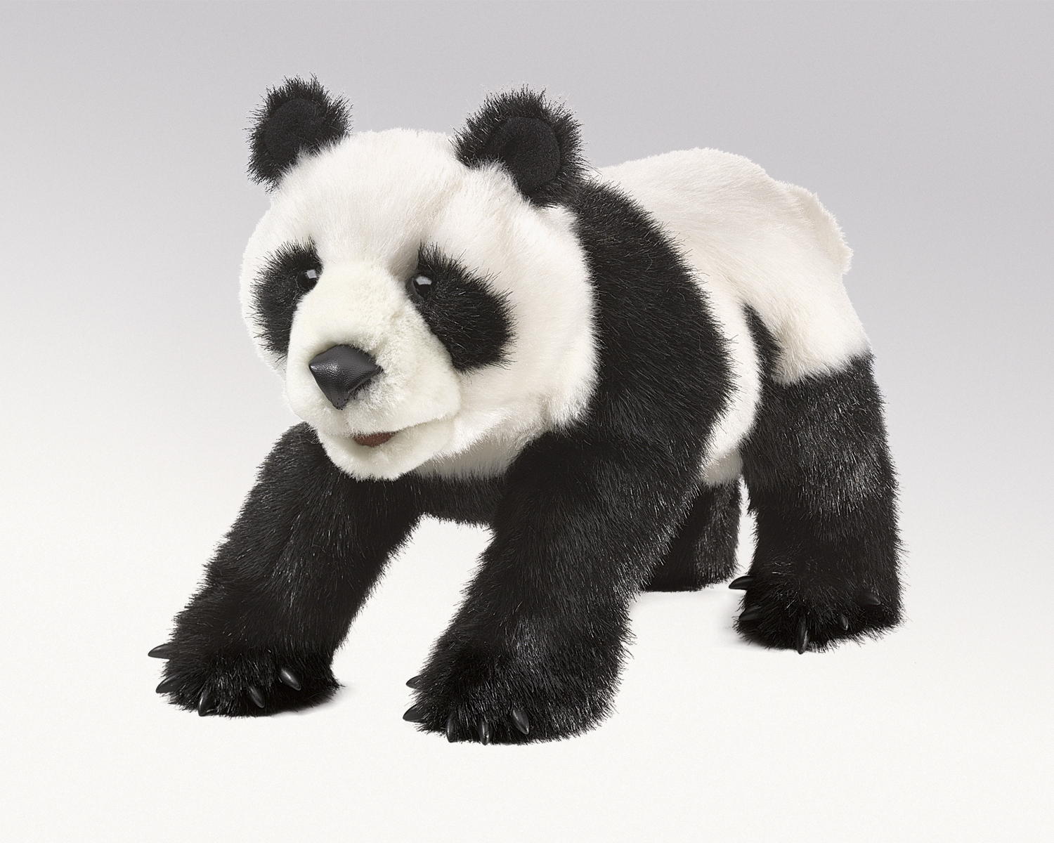 Small Panda Hand Puppets By Folkmanis Puppets