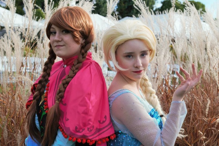 Frozen Sisters, Photo courtesy of Rachel Makary