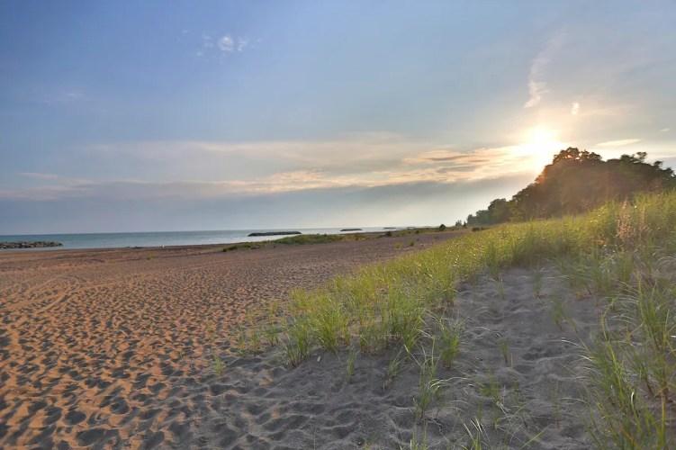 Presque Isle beach, Photo courtesy of Visit Erie