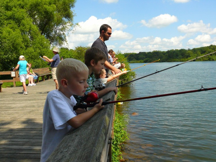 7 great family friendly day trips near pittsburgh for Kid friendly fishing near me