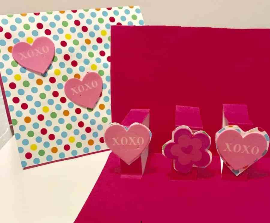 pop-up Valentines