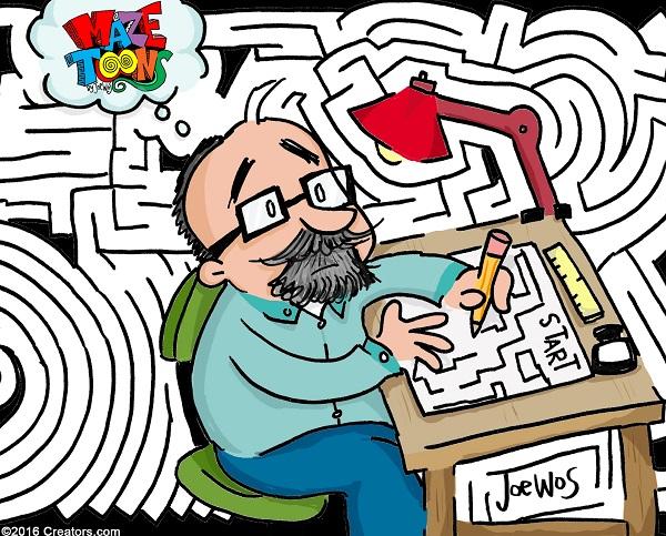 The a-maze-ing tale of Joe Wos