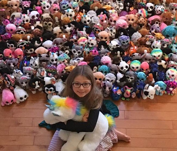 The Mary Christmas Project honors Mary Claire Friedl with Beanie Boo donations from around the world
