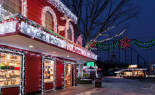 Kennywood Christmas.Let It Glow Pittsburgh S Best Holiday Light Displays