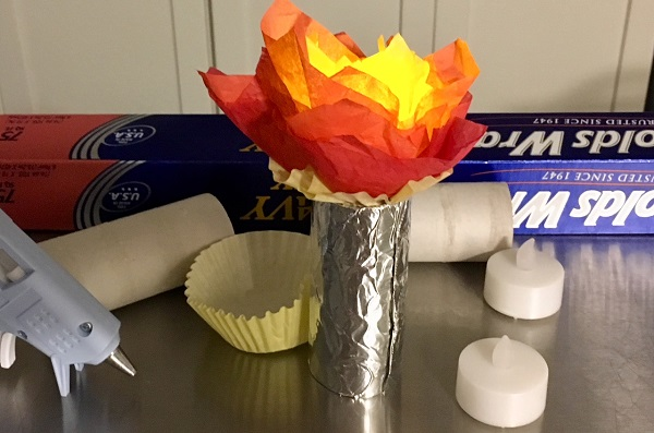 Maker Monday Glowing Olympic Torch Pittsburgh Is Kidsburgh