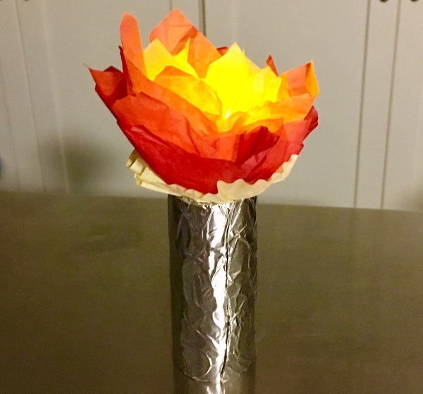 Maker Monday: Glowing Olympic Torch