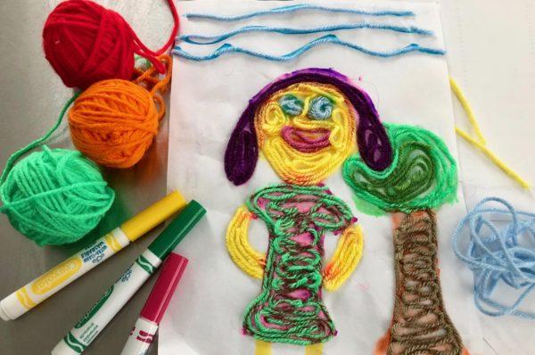 Maker Monday: Yarn Art