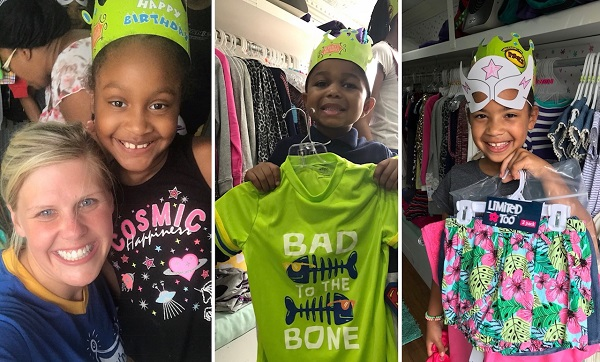 "Birthday Boutique fashion truck offers ""Hope on a Hanger"" to kids in need"