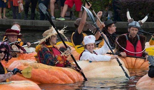 pumpkin paddle