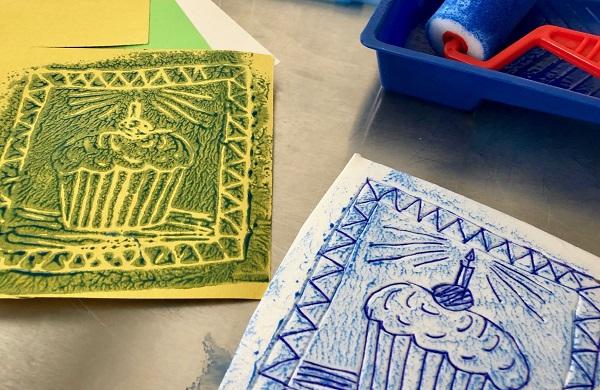 Maker Monday: Foam Prints