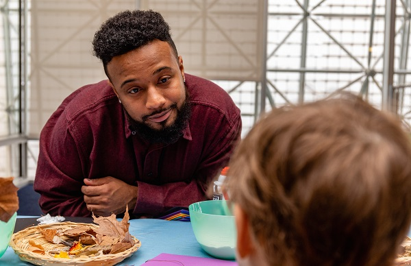 Meet Will Tolliver, PBS Kids Early Learning Champion, who leads by example