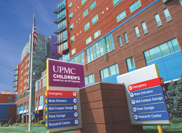 UPMC Children's Hospital rated No  8 nationally by U S  News