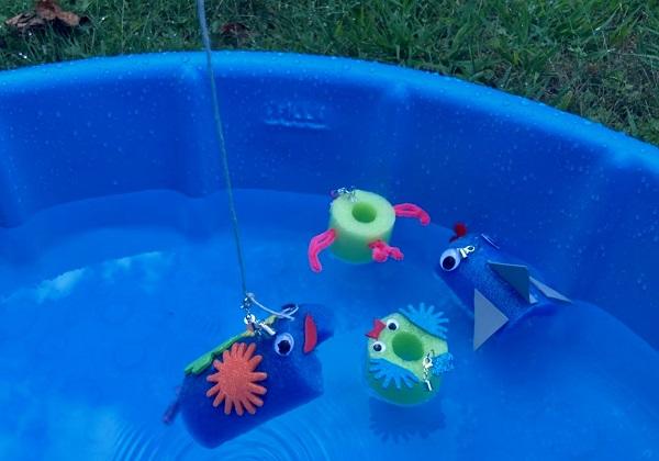 Maker Monday: Backyard Noodle Fishing