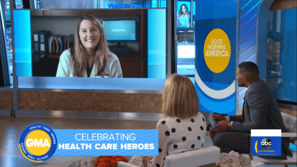 GMA hosts Pittsburgh midwife and her 'Lean on Me' performance at Magee
