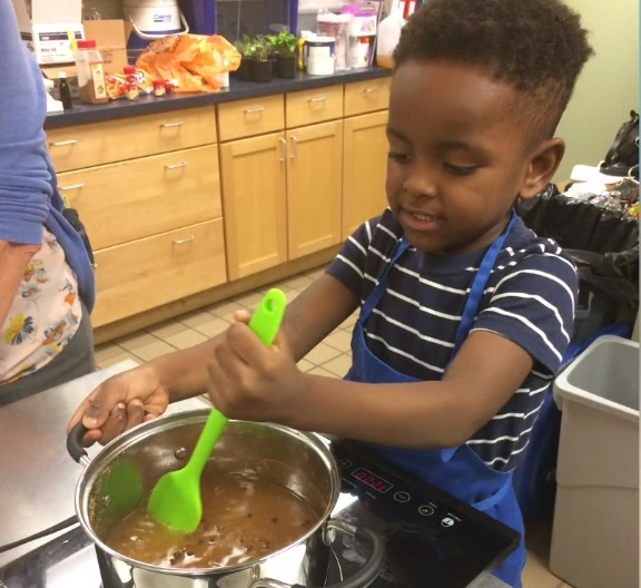 Kidcast shows how to get your kids cooking, age by age
