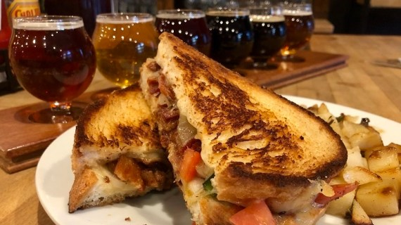 Grilled Cheese at Bier's Pub. Photo by Sally Quinn.