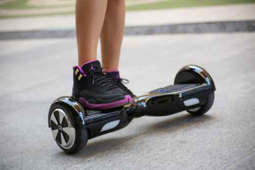 teach your child how to ride a hoverboard safely without falling
