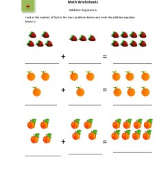 UKG-Basic Picture Addition Worksheets for Kids - Kidschoolz [ 1320 x 1020 Pixel ]