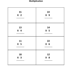 Grade 3 - Multiplication Worksheet 1 - Kidschoolz [ 1320 x 1020 Pixel ]