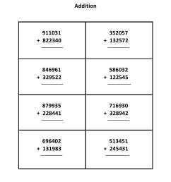 Grade 5 - Addition Worksheet 1 - Kidschoolz [ 1403 x 992 Pixel ]