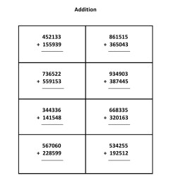Grade 5 - Addition Worksheet 3 - Kidschoolz [ 1403 x 992 Pixel ]