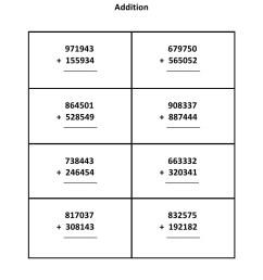 Grade 5 - Addition Worksheet 4 - Kidschoolz [ 1403 x 992 Pixel ]