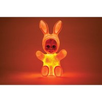 Goodnight Light Bunny Baby Rabbit Soft Pink LED Lamp by ...