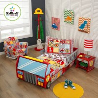 Fire Truck Toddler Bed - Unique Beds For Toddlers ...