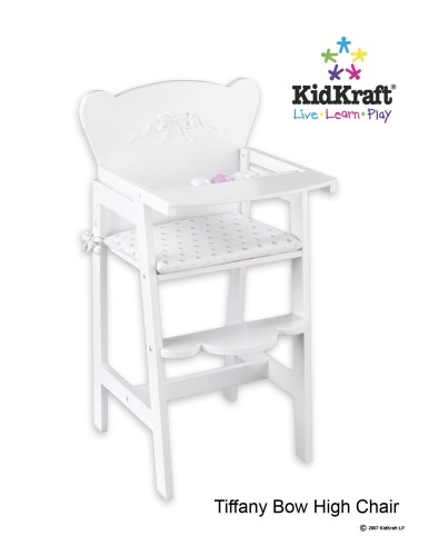 american girl high chair gray wicker kids dream spot doll feeding