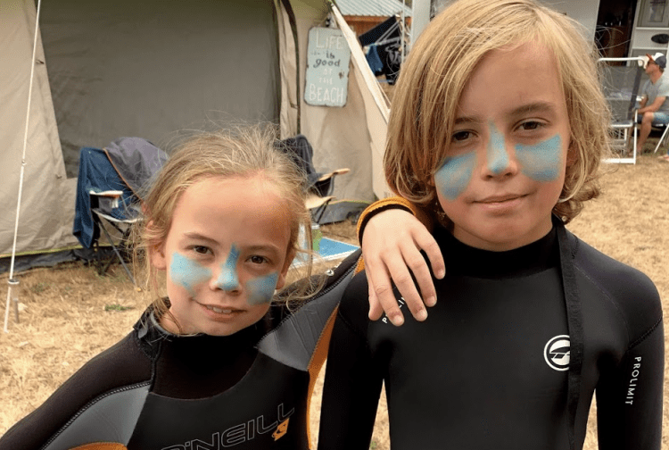 Let's go surfing: BoardX Family Camp