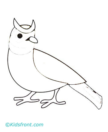 Lark Coloring Pages Printable