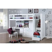 My Design Bunk Bed W/Stair K/Single #104028