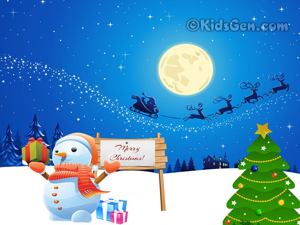 Cute Christmas Wallpapers For Kids Christmas Wallpaper
