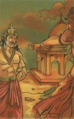 Nahusha and Agastya