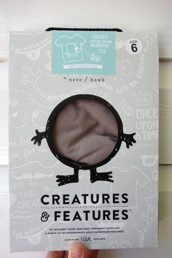 creatures and features packagaging