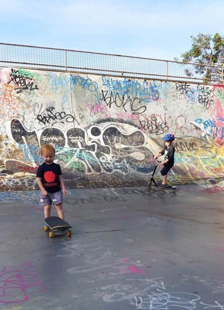 skater scooter