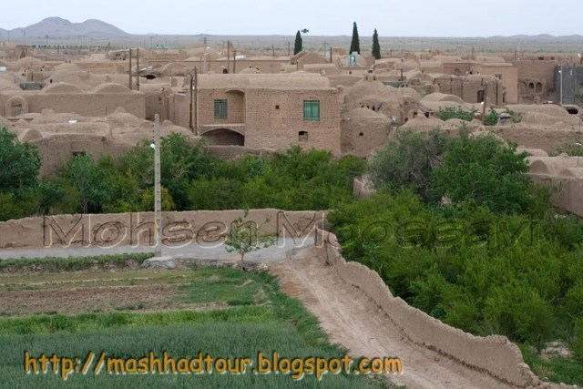Village of Khoosf Where Mr. and Mrs. Nakhaii live