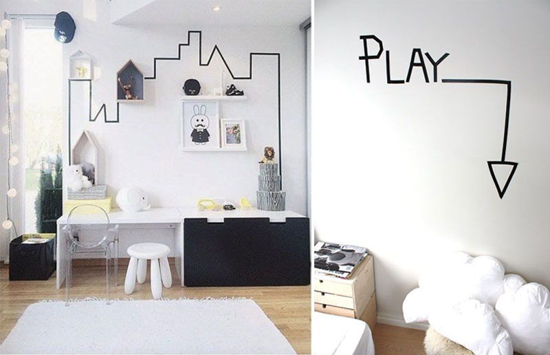 Awesome Washi Tape Ideas For Kids Rooms