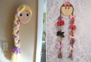 creative hair bow holder ideas