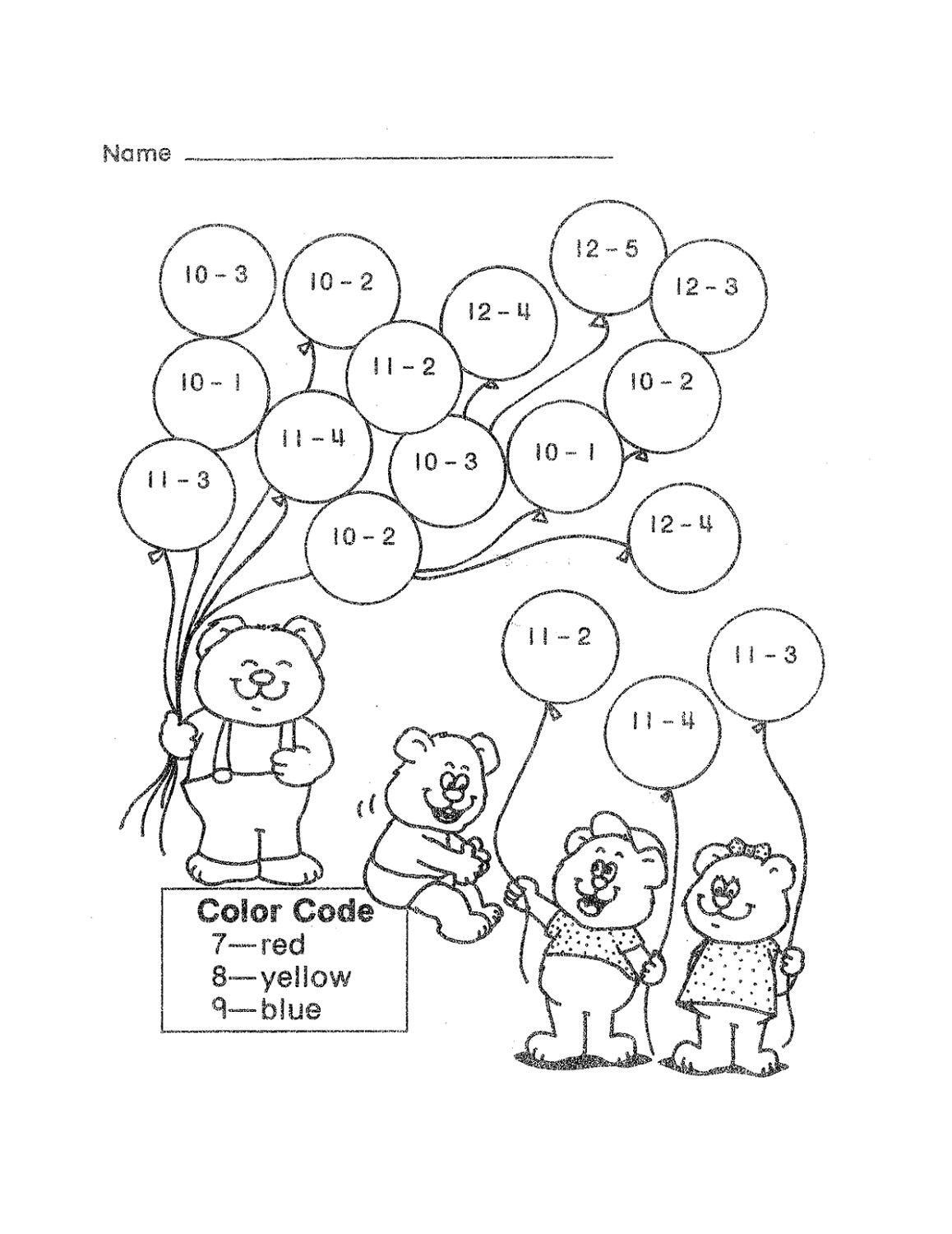 Printable Math Games 2nd Grade Kids Learning Activity