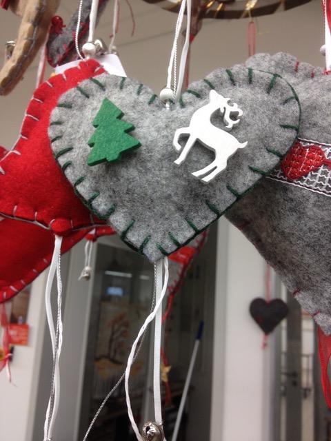 Weihnachtsschmuck aus Filz