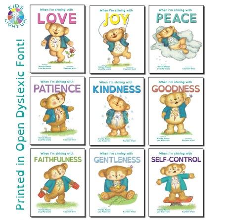 Children's Book Series Kids Light Up