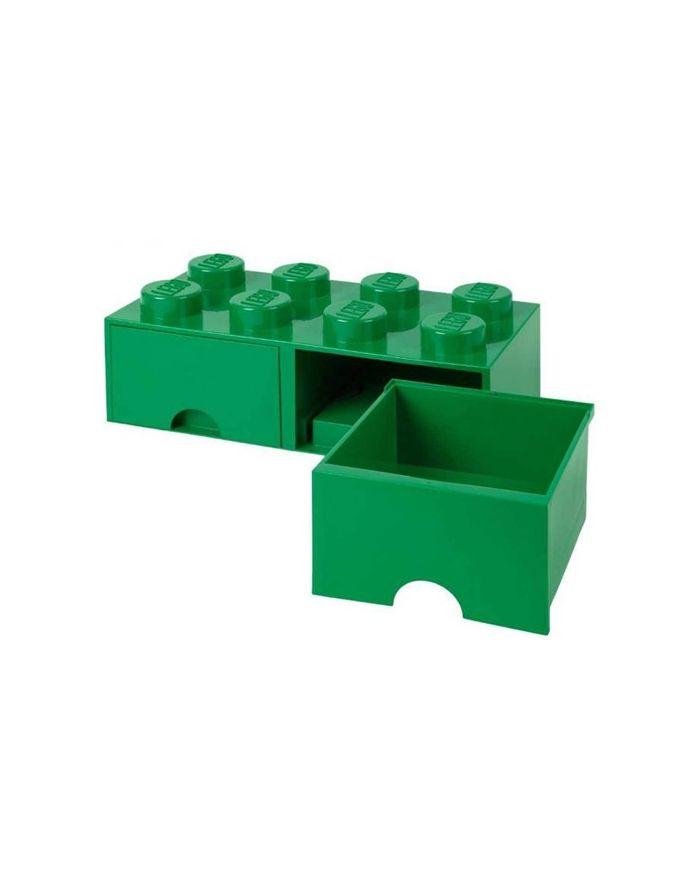 lego boite de rangement tiroir 8 plots vert