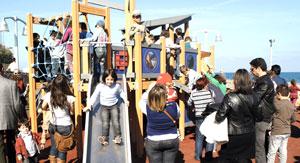 Playground at Karavolas area