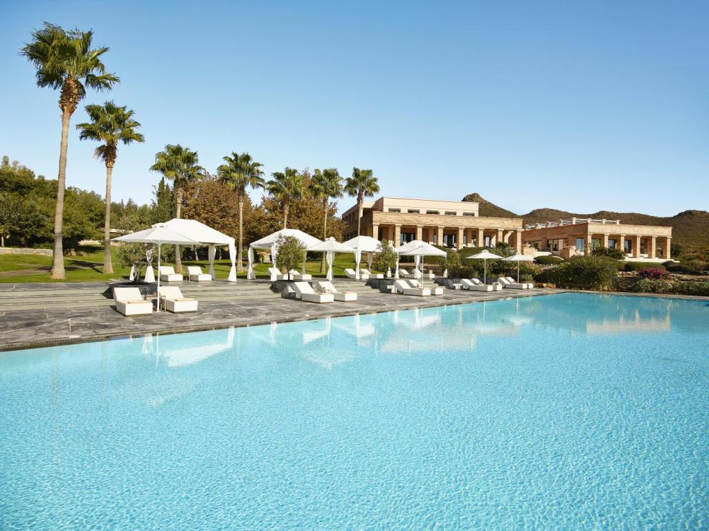Cape Sounio hotel pool accommodation