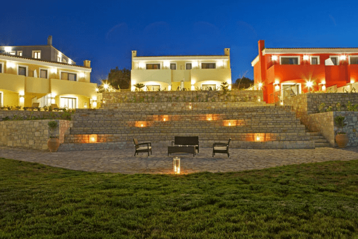 Crete Carme Villas family complex kids love greece adele rethymno accommodation for families