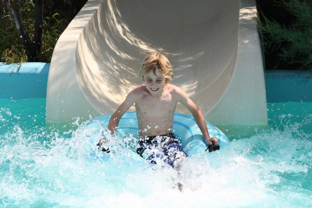 Aqua Creta Limnoupolis Water Park Slides Chania Crete Kids and Families