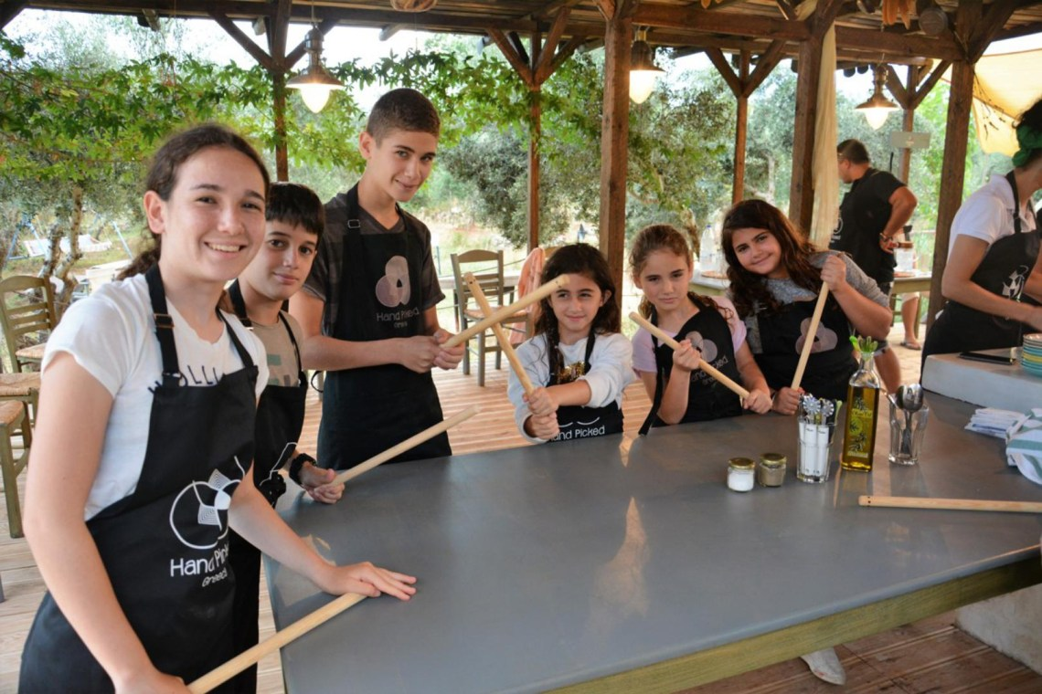 Cretan Cookery Workshop Crete family activity gastronomy local ingredients olive farm kidslovegreece Greece culture