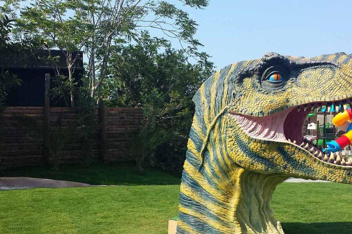 Dinosauriapark activity Kids Love Greece