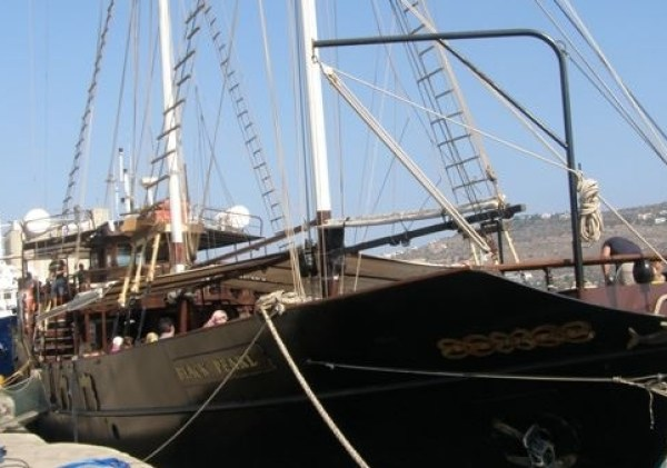 Pirate Cruise in Souda Bay